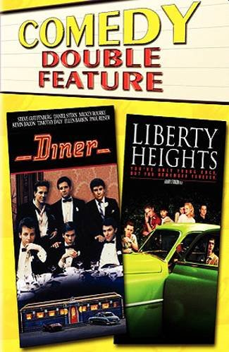 DINER  (1982) /  LIBERTY HEIGHTS (1999) - Double DVD