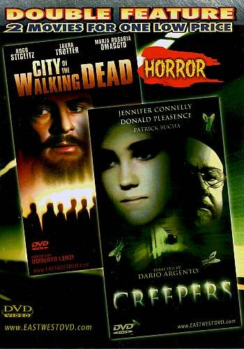 CREEPERS / CITY OF THE WALKING DEAD  - DVD