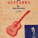 METODO PRACTICO DE GUITARRA - Jorge Hernandez (1967)