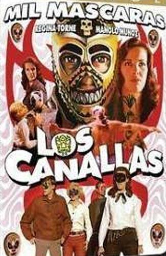 LOS CANALLAS - Mil Mascaras (1968) - Spanish DVD
