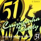 BRAZIL MADDNESS - 51 Caipirinha Party - 6 Track CD Promo