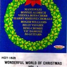 WONDERFUL WORLD OF CHRISTMAS Vol. 1 (1981) - Cassette Tape