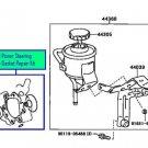 Toyota Altezza SXE10 - Genuine Power Steering Pump Gasket Repair Kit (Seals) 3SGE Beams