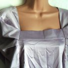 Pied A Terre Pleat Sleeved Top - Purple - Size 12 BNWT - RRP £50