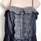 Pied A Terre Lace Trim Tulip Dress - Black Size 8 or 14 - BNWT - RRP £160