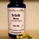 Irish Sea Moss 900mg 90 Capsules (Chondrus crispus)