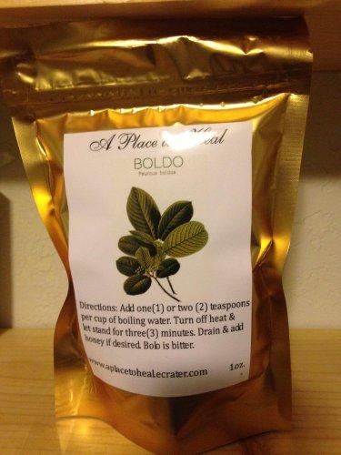 Boldo tea leaves (wildcrafted) 1oz