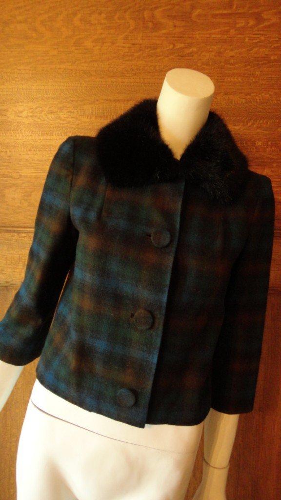 Vintage Pendleton Ladies Wool Jacket Sz S
