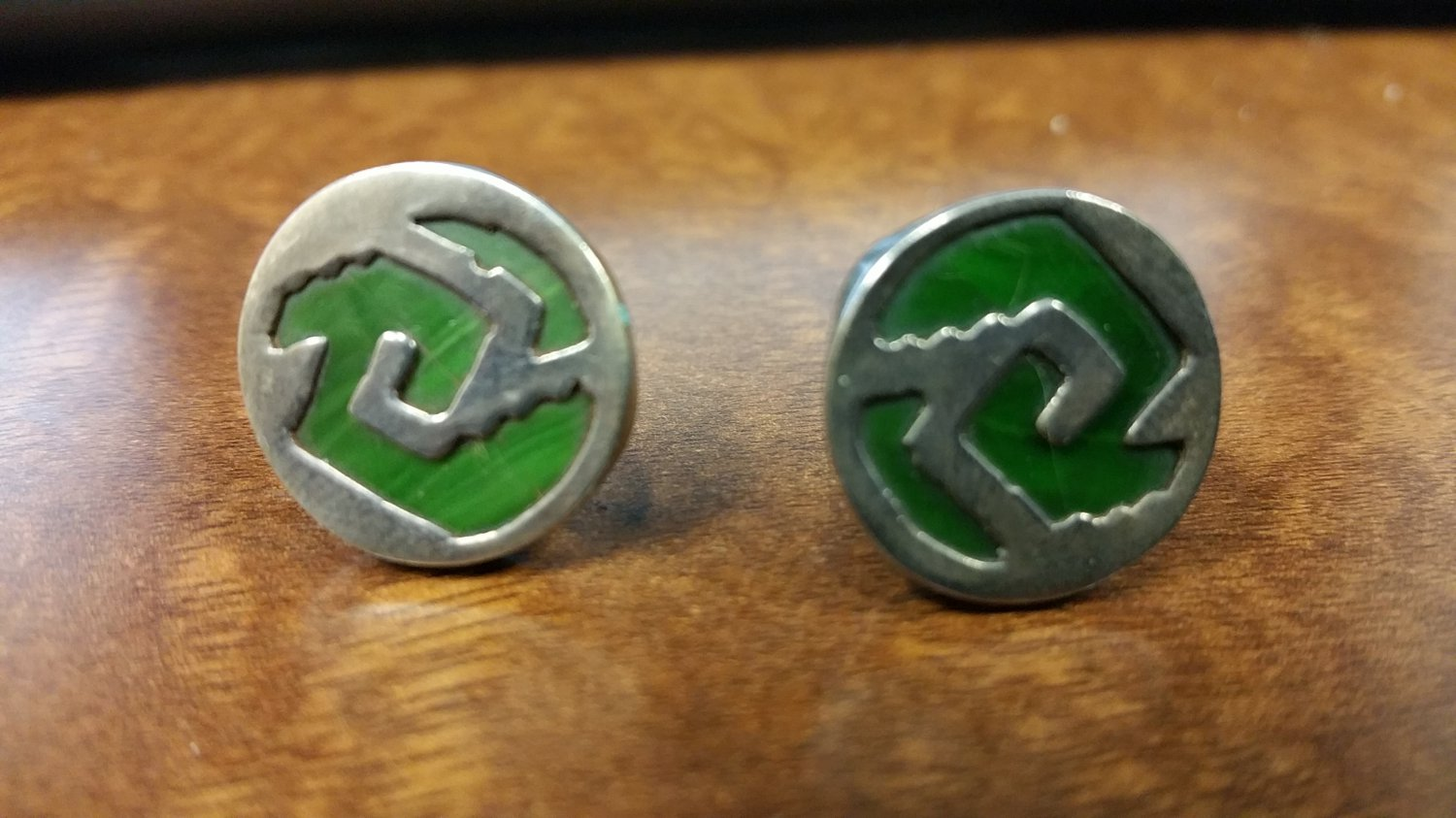 Vintage Mexican Silver Cufflinks