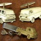 Vintage Set of Econoline Cufflinks