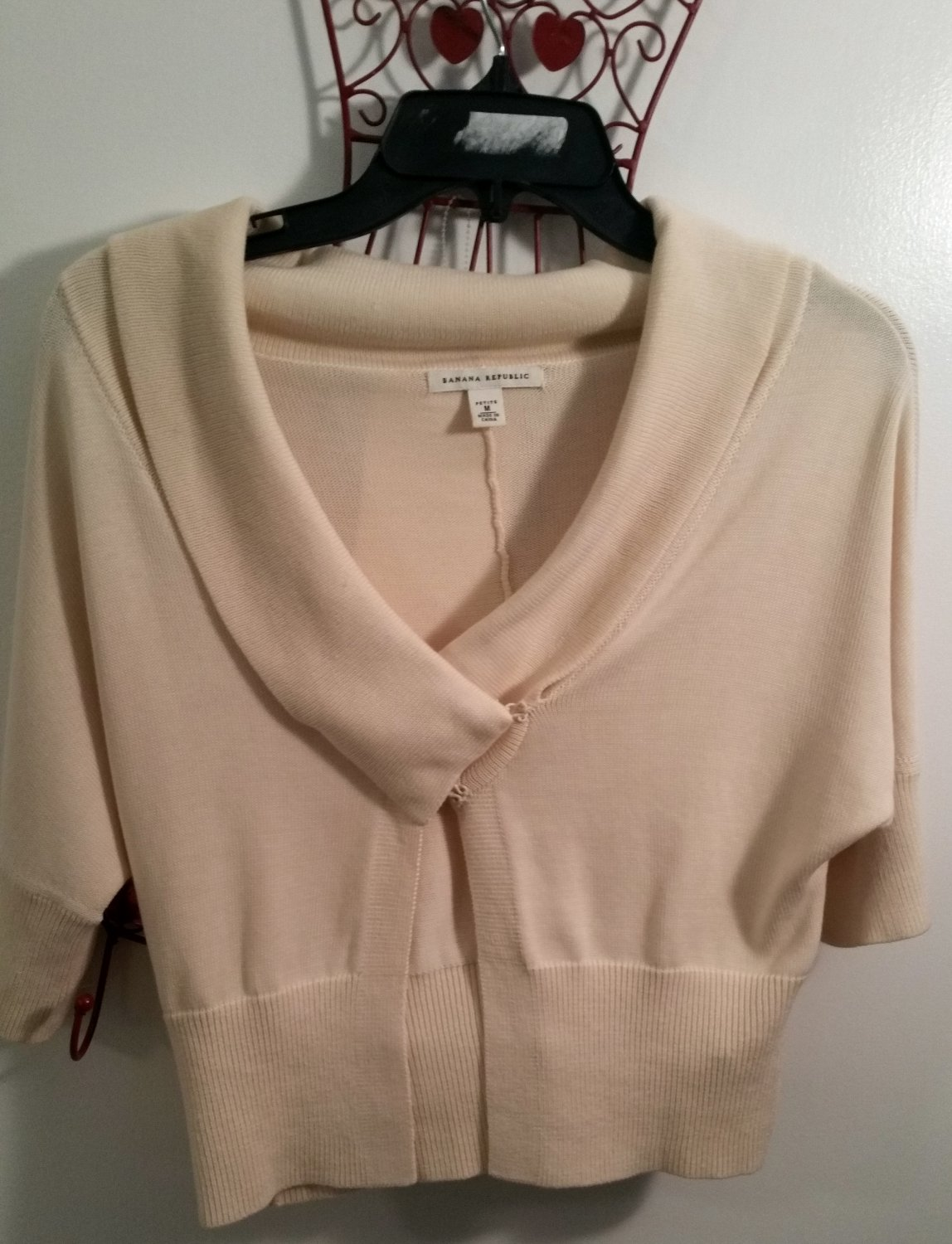 Banana Republic Half Sleeve Shrug Bolero Knit Cardigan