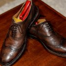 Zara Brown Leather Wingtips