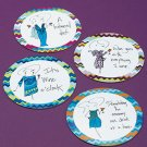 Humor 16-Pc. Gift-Boxed Coaster Set