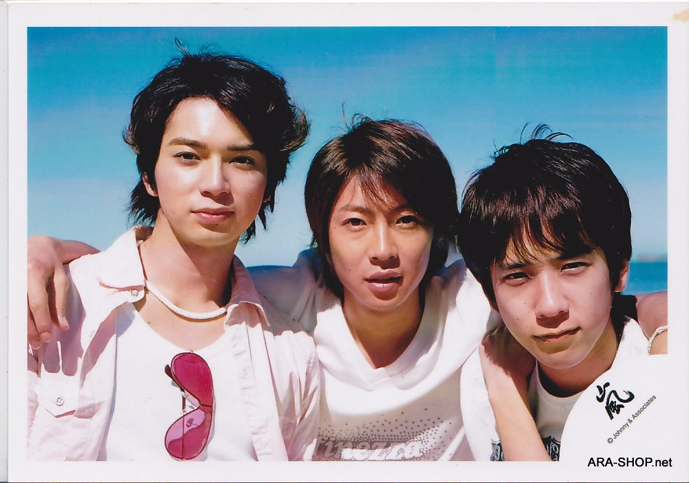 SHOP PHOTO - ARASHI - 2006 in Hawaii (Aiba, Nino, Jun) #256