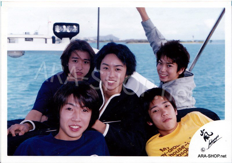 SHOP PHOTO - ARASHI - DEBUT in HAWAII 1999 #074