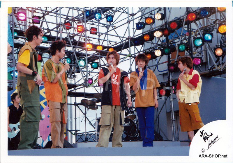 SHOP PHOTO - ARASHI - GROUP & MIX #091