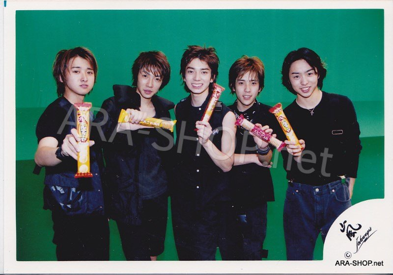 SHOP PHOTO - ARASHI - GROUP & MIX #125