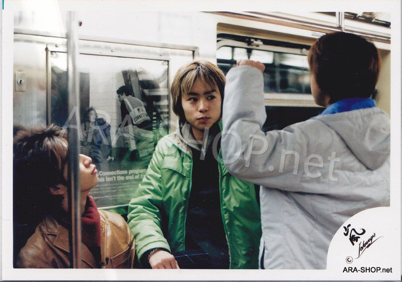 SHOP PHOTO - ARASHI - 2001 in New York #126