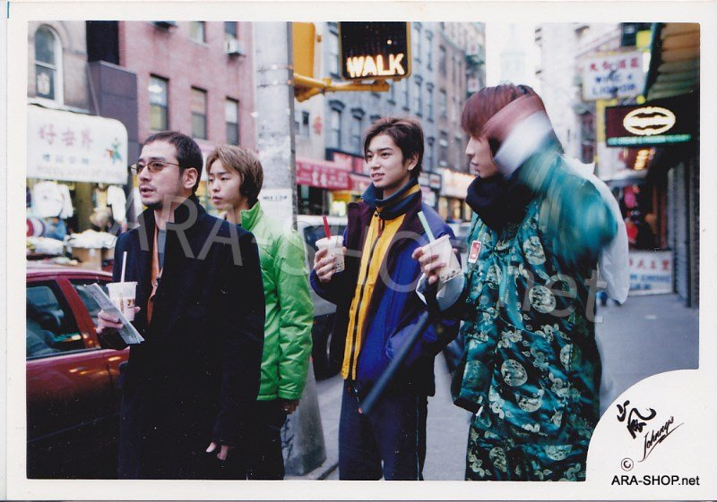 SHOP PHOTO - ARASHI - 2001 in New York #128