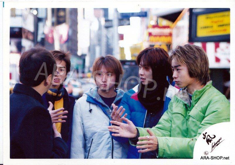 SHOP PHOTO - ARASHI - 2001 in New York #131