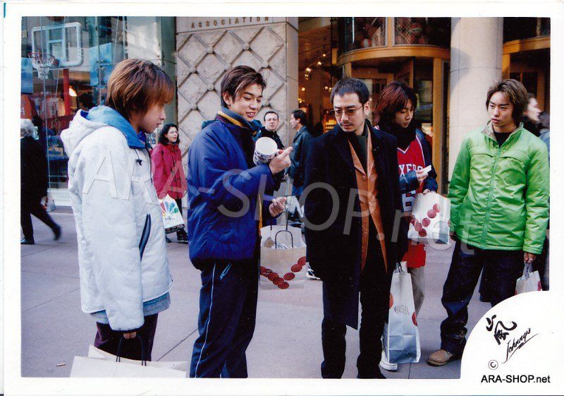 SHOP PHOTO - ARASHI - 2001 in New York #132