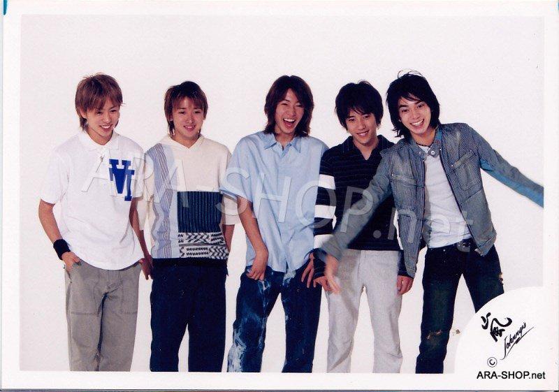 SHOP PHOTO - ARASHI - 2002 HERE WE GO  #146