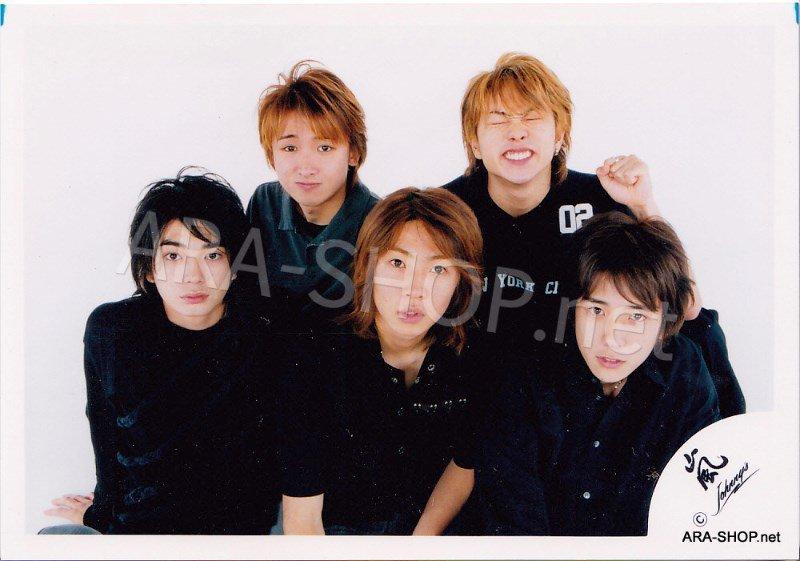 SHOP PHOTO - ARASHI - 2002 HERE WE GO  #149