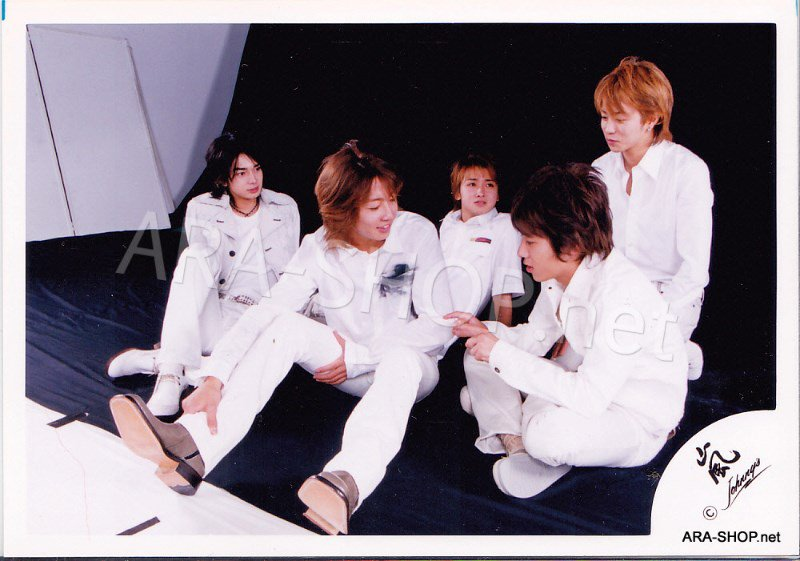 SHOP PHOTO - ARASHI - 2002 HERE WE GO  #155