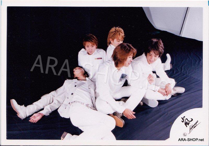 SHOP PHOTO - ARASHI - 2002 HERE WE GO  #156