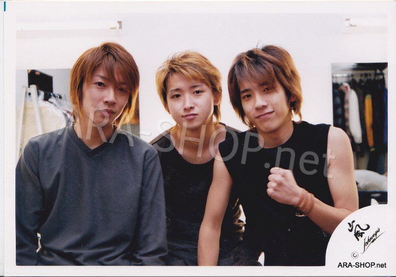 SHOP PHOTO - ARASHI - 2002 ~ 2003 ATARASHI ARASHI #164
