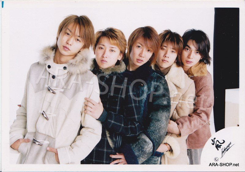SHOP PHOTO - ARASHI - 2002 ~ 2003 ATARASHI ARASHI #167