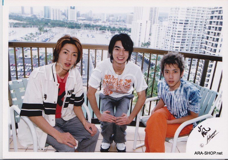 SHOP PHOTO - ARASHI - 2003 Fanmeeting in HAWAII #180