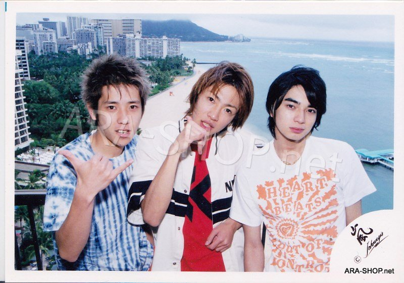 SHOP PHOTO - ARASHI - 2003 Fanmeeting in HAWAII #182