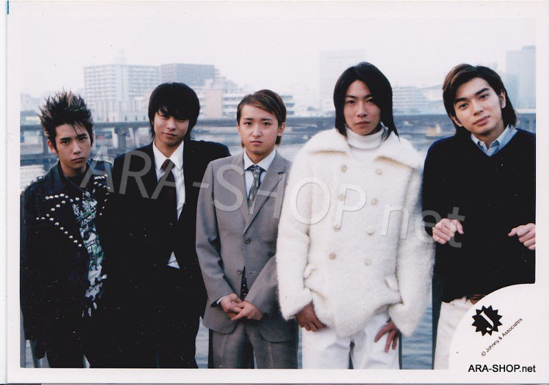 SHOP PHOTO - ARASHI - PIKANCHI DOUBLE #212