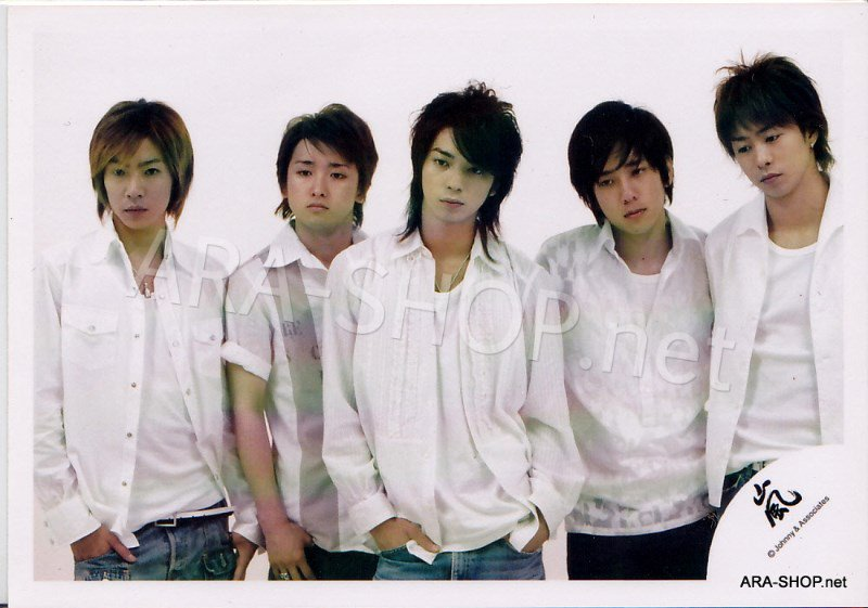 SHOP PHOTO - ARASHI - 2004 Iza, Now! #219
