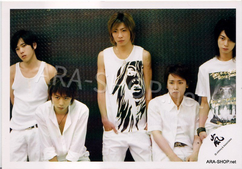 SHOP PHOTO - ARASHI - 2004 Iza, Now! #220