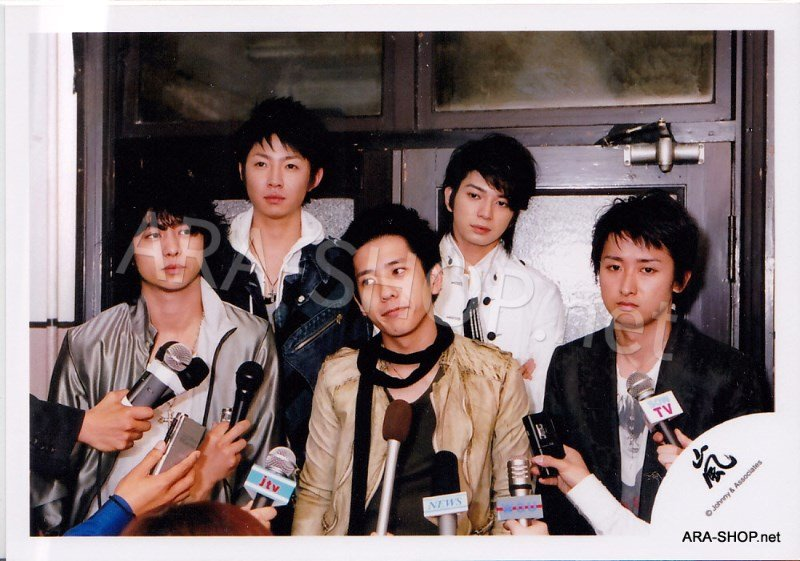 SHOP PHOTO - ARASHI - 2006 ARASHIC #240