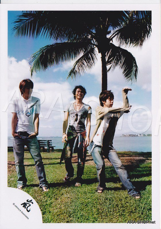 SHOP PHOTO - ARASHI - 2006 in Hawaii (Aiba, Nino, Jun) #247