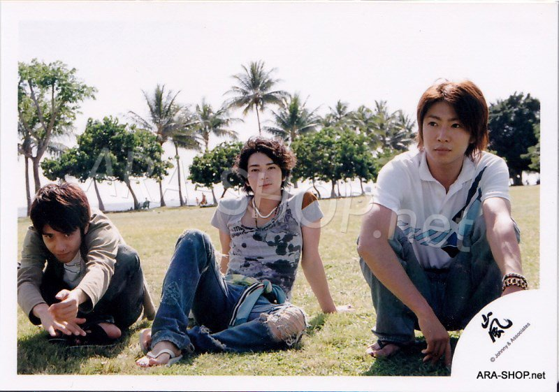 SHOP PHOTO - ARASHI - 2006 in Hawaii (Aiba, Nino, Jun) #249