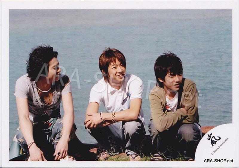SHOP PHOTO - ARASHI - 2006 in Hawaii (Aiba, Nino, Jun) #251