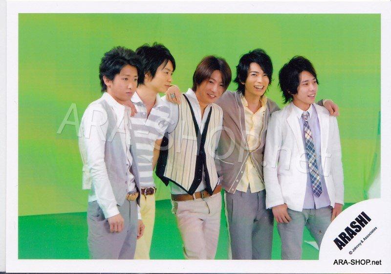 SHOP PHOTO - ARASHI - 2008 One Love [PV] #286
