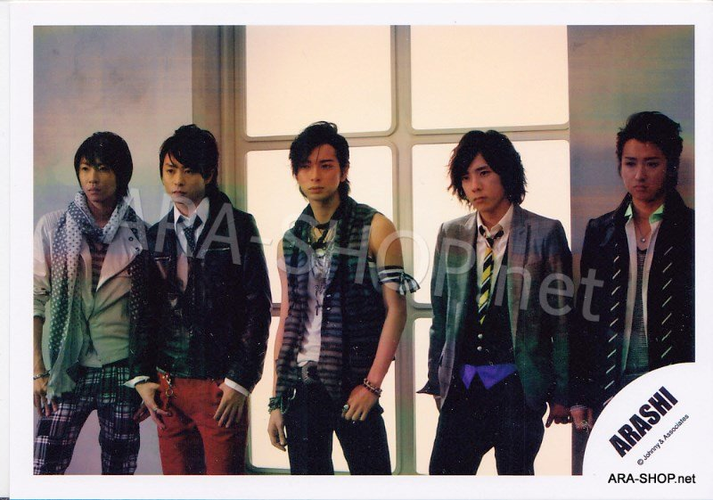 SHOP PHOTO - ARASHI - 2008 Dream-a-Live DAL #281