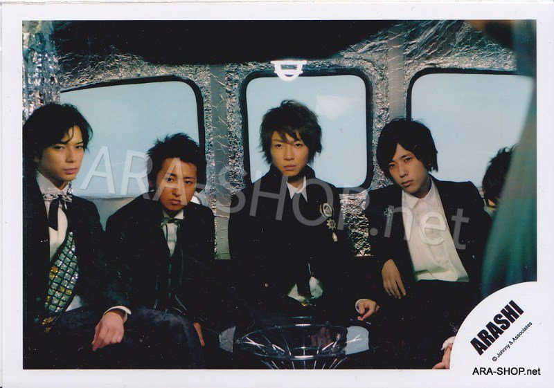 SHOP PHOTO - ARASHI - 2009 ~ 2010 5x10 ALL THE BEST #299
