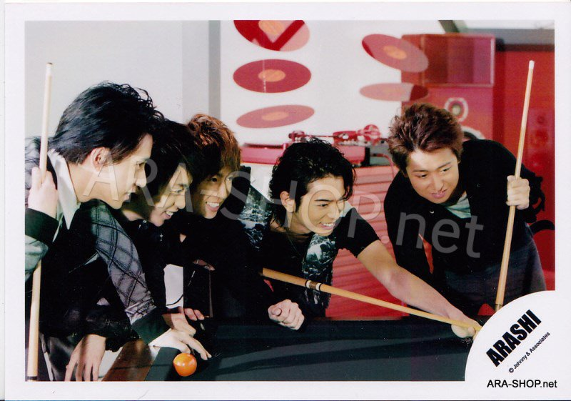 SHOP PHOTO - ARASHI - 2009 ~ 2010 5x10 ALL THE BEST #310