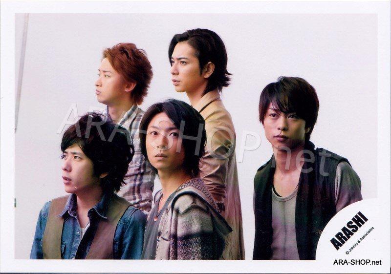 SHOP PHOTO - ARASHI - 2010 to be free [PV] #332