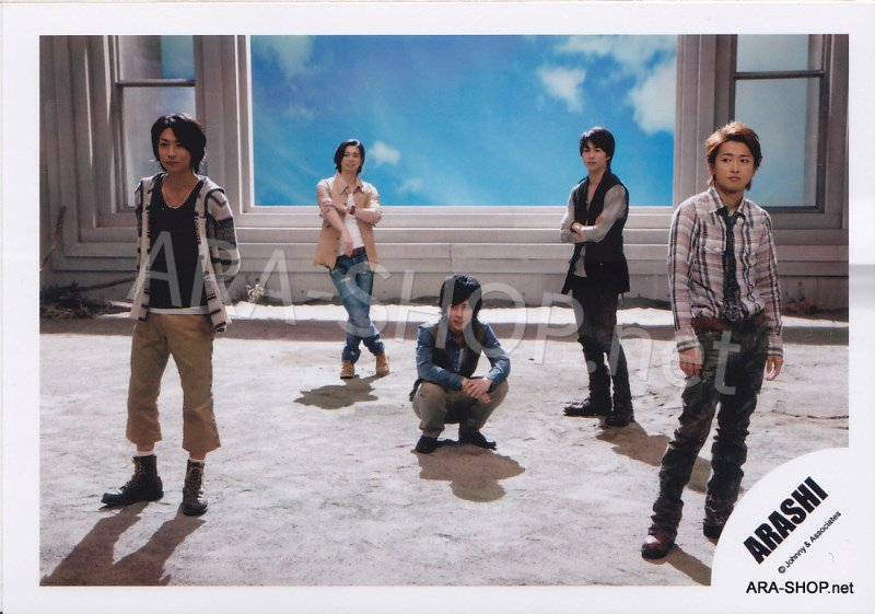 SHOP PHOTO - ARASHI - 2010 to be free [PV] #333