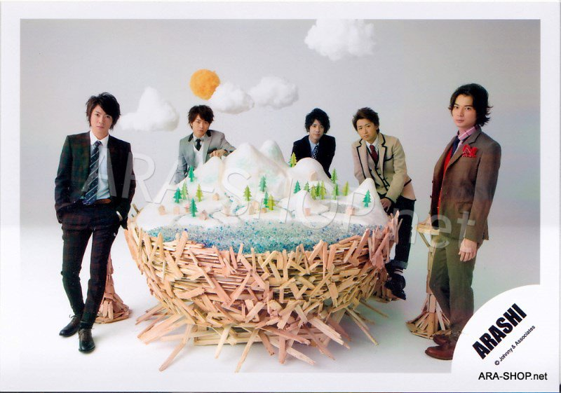 SHOP PHOTO - ARASHI - 2010 ~ 2011 Scene Tour #340