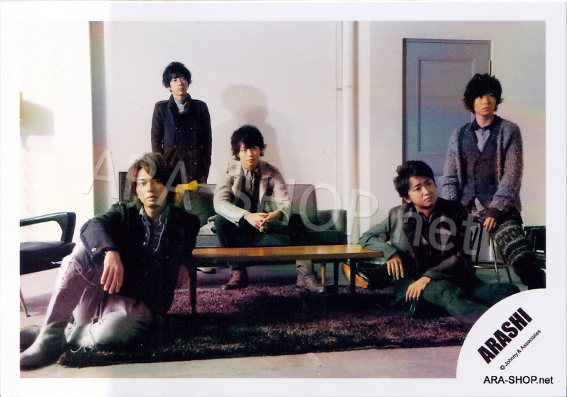 SHOP PHOTO - ARASHI - 2010 Hatenai Sora [PV] #347