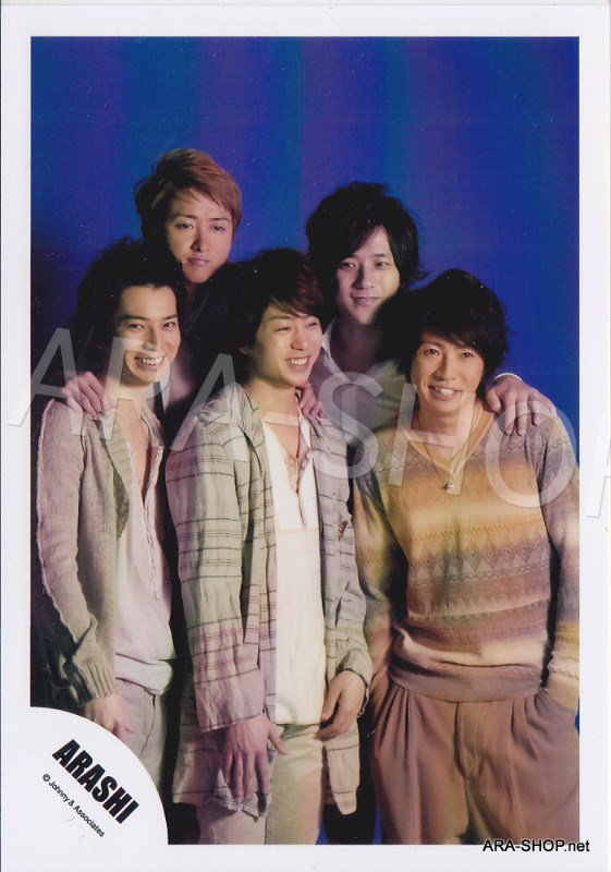 SHOP PHOTO - ARASHI - 2011 ~ 2012 Beautiful World Tour #360