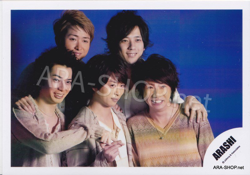 SHOP PHOTO - ARASHI - 2011 ~ 2012 Beautiful World Tour #361